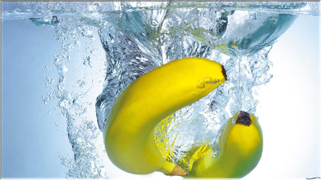 wallpaper buah pisang