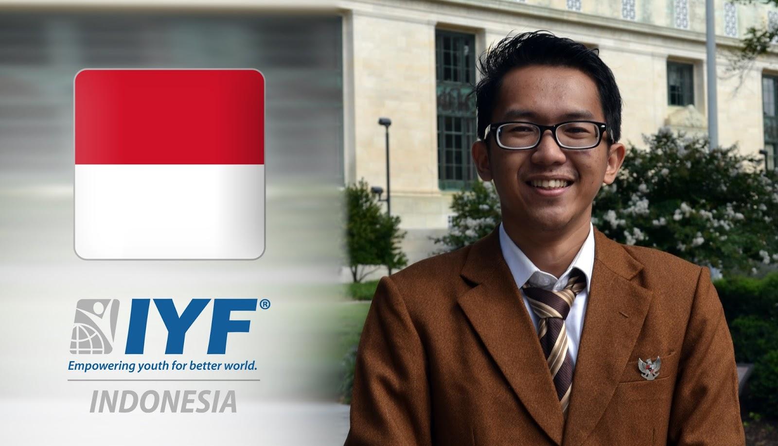Panji Aziz Pratama, IYF Representative in Indonesia