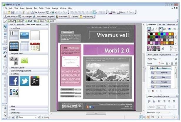 Webplus X6 Tutorial Pdf