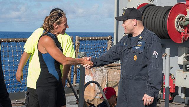 В Тихом океане спасли американок, пять месяцев дрейфовавших на яхте