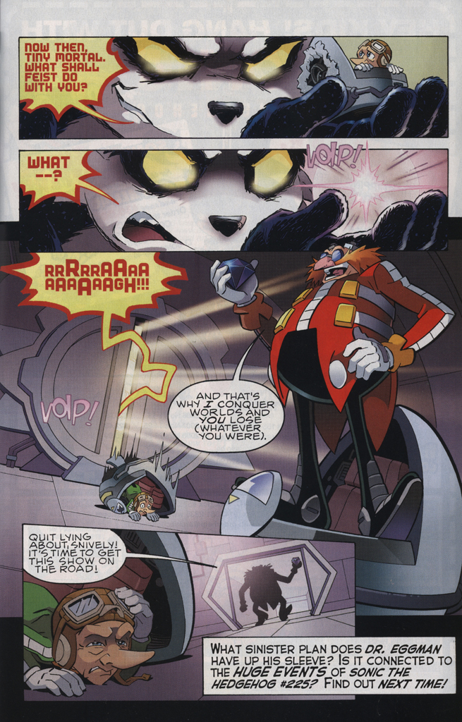 Read online Sonic The Hedgehog comic -  Issue #223 - 31