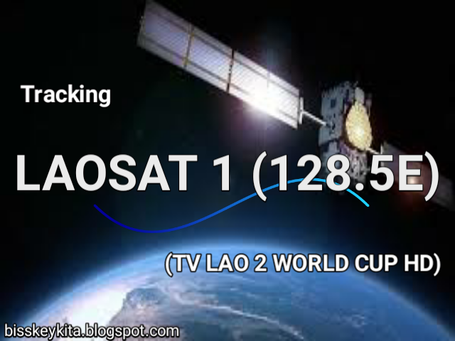 Cara Tracking Laosat 1 Ku-Band