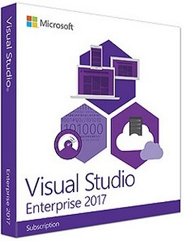 Visual Studio Enterprise 2017 poster box cover