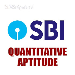 Quantitative Aptitude Questions For SBI Clerk : 14 - 05 - 18
