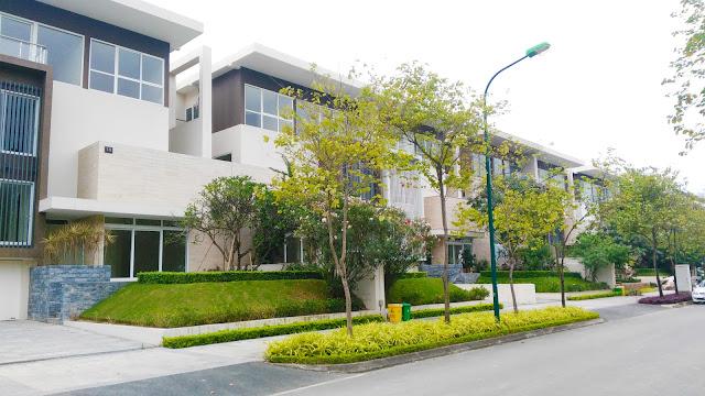 Biệt thự khu đô thị Ciputra Nam Thăng Long Hà Nội