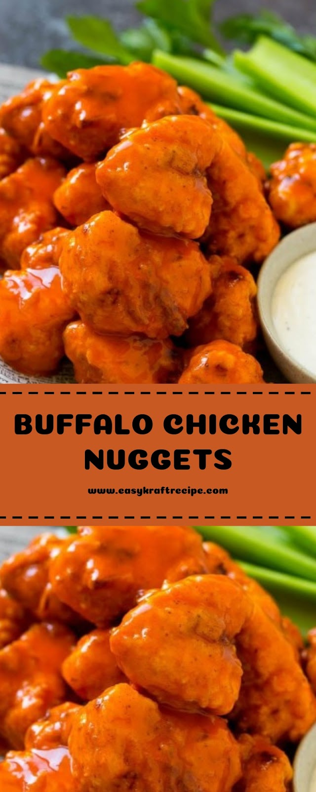BUFFALO CHICKEN NUGGETS RECIPES