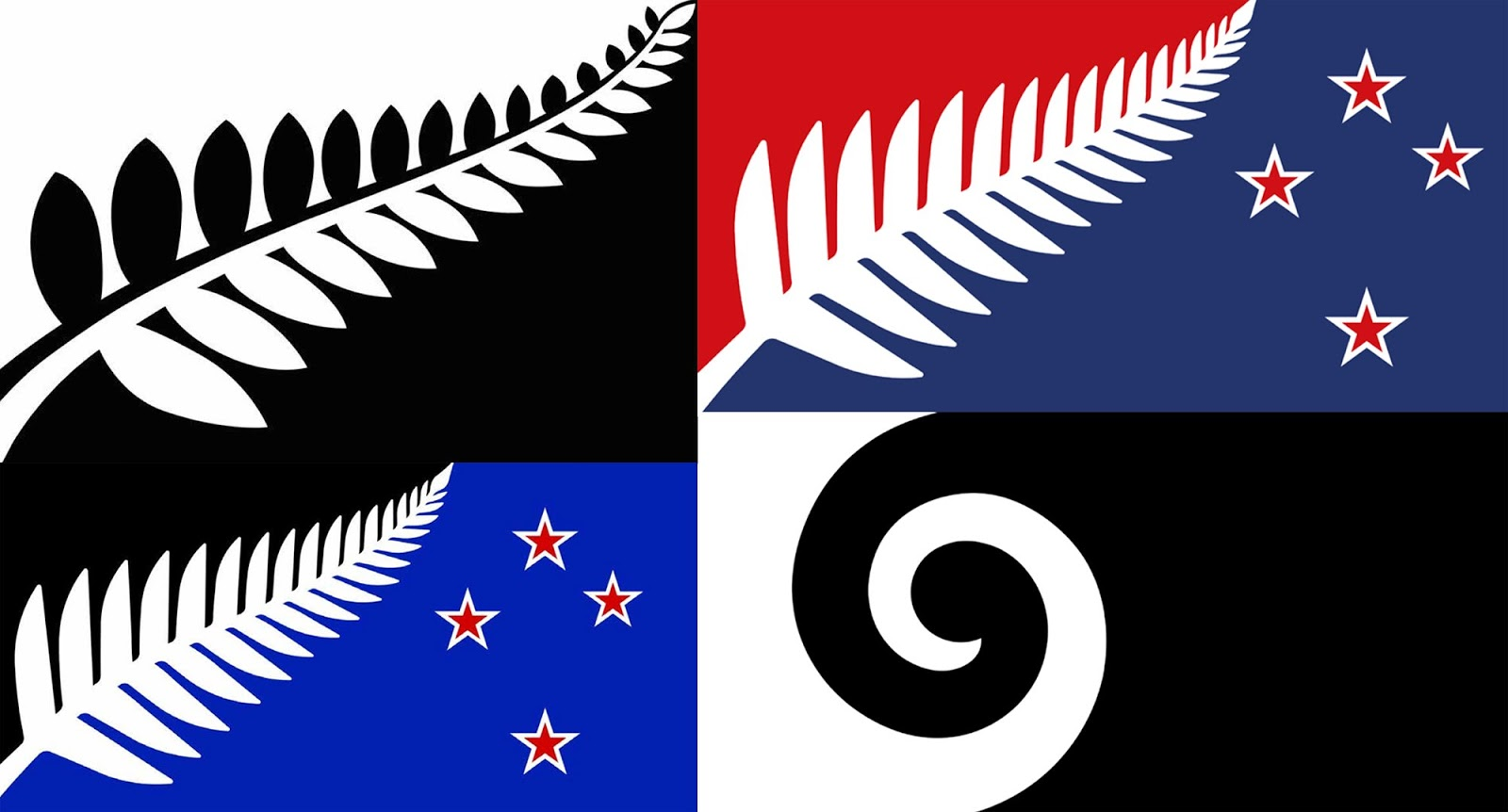 New Zealand Flag Twitter: New Zealand Flag Contest Finalists Are In, People Are
