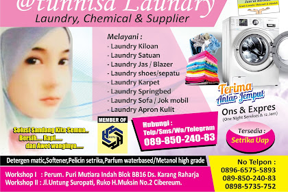 Brosur Laundry Terbaru
