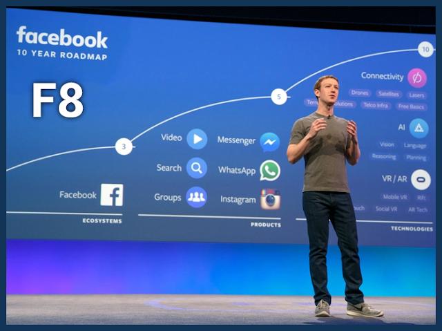 خلاصة إعلانات مؤتمر F8 الخاص بمطوري Facebook