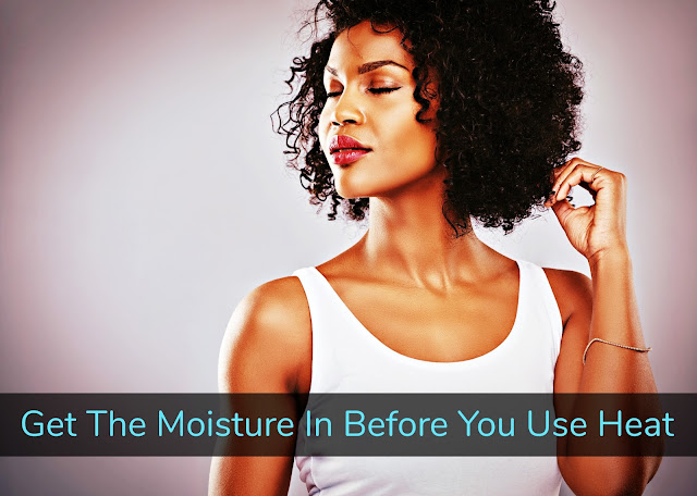Click here to buy SHEAMOISTURE® RAW SHEA BUTTER DEEP TREATMENT MASQUE to add mega moisture to your hair.