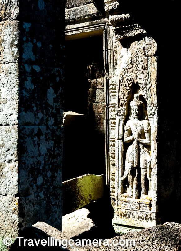 Ta Prohm in Angkor Wat used to be called as 'Rajavihara', which was build in Bayon style by Khmer King Jayavarman VII.