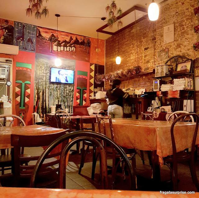 Restaurante africano Bennachin, Nova Orleans
