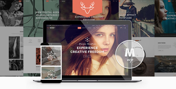 Free Download latest version of Moose V1.2 - Creative Multi-Purpose Wordpress Theme