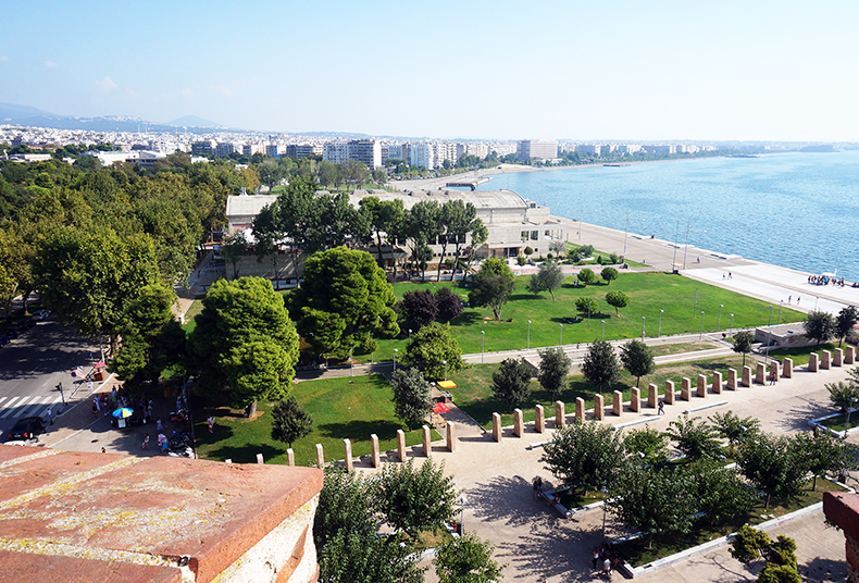 Euriental | fashion & luxury travel | weekend in Thessaloniki, Greece, view from White Tower