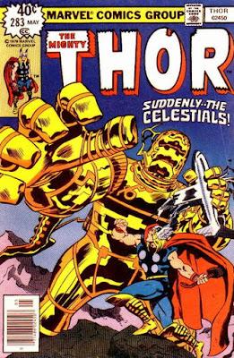 Thor #283, the Celestials