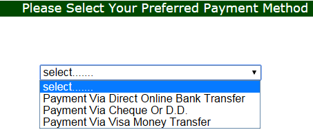 Payment method in onlinejobsfree.com