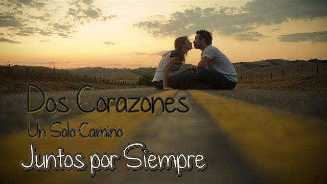 Imágenes de parejas románticas con frases de amor