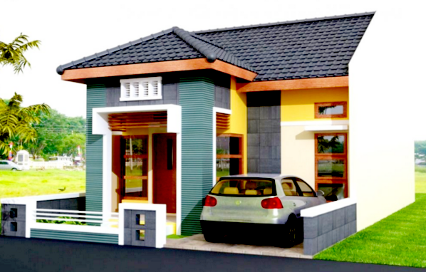 Ganbar 7 Desain Rumah Minimalis Type 54