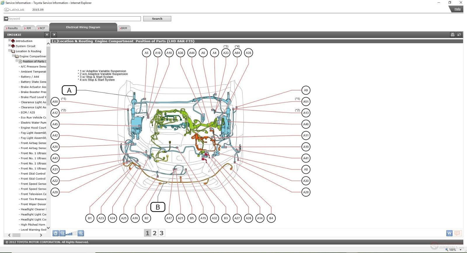 Freeautoepcservice  Lexus Nx200t  2015