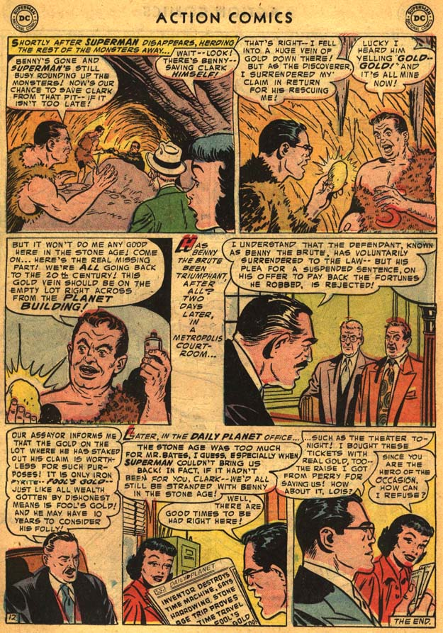 Read online Action Comics (1938) comic -  Issue #201 - 14
