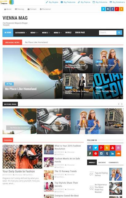 free premium blogger template seo friendly