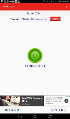 Etisalat 0.0k Remote Tweak Free Browsing With Stark VPN-Sooloaded.net