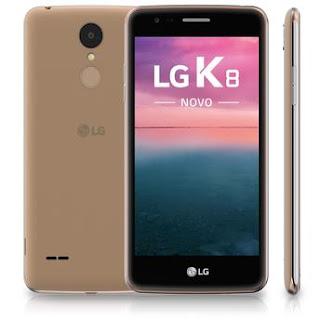 Smartphone LG K8 NOVO Dourado