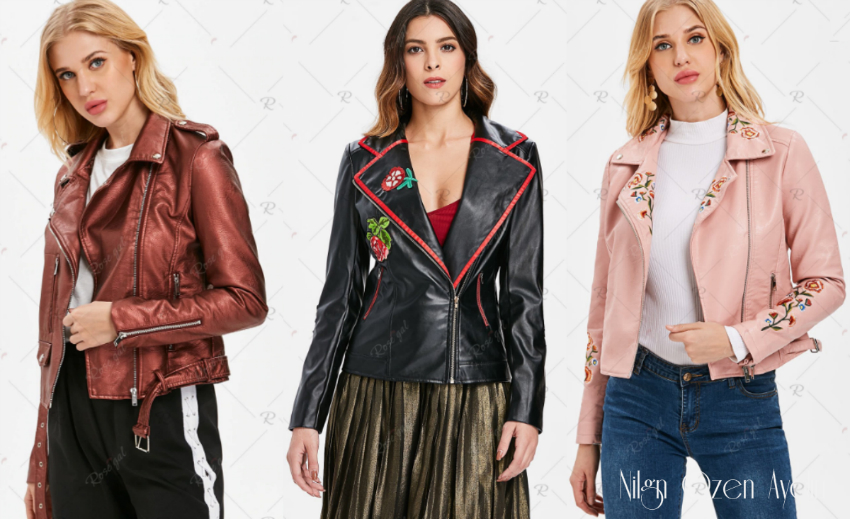 Serin Havalar için En İyi Deri Ceketler Rosegal Alışveriş Sitesinde