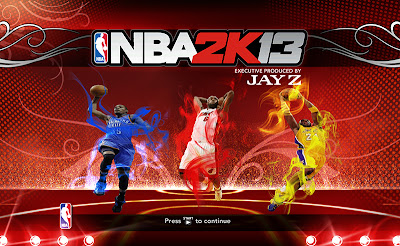 NBA 2K13 NBA's Top League Leaders Splash Screen Mod