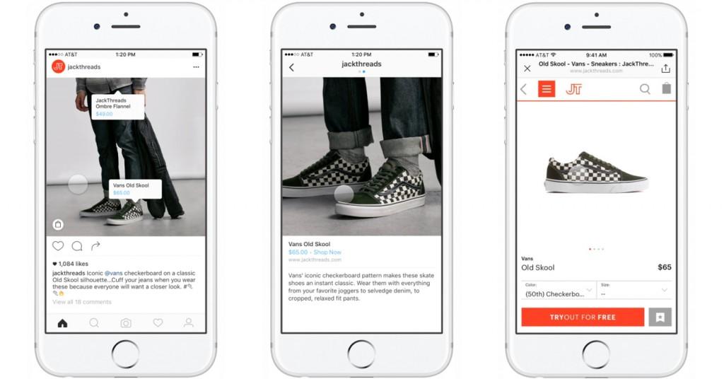 b32cdb0c2fc2 Instagram añade botón para comprar dentro de la red social | Geekers ...