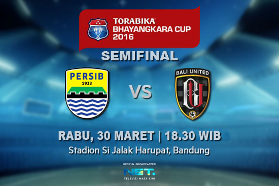 Persib vs Bali United Semifinal Piala Bhayangkara 2016