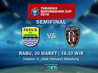 Persib vs Bali United: Semifinal Piala Bhayangkara 2016