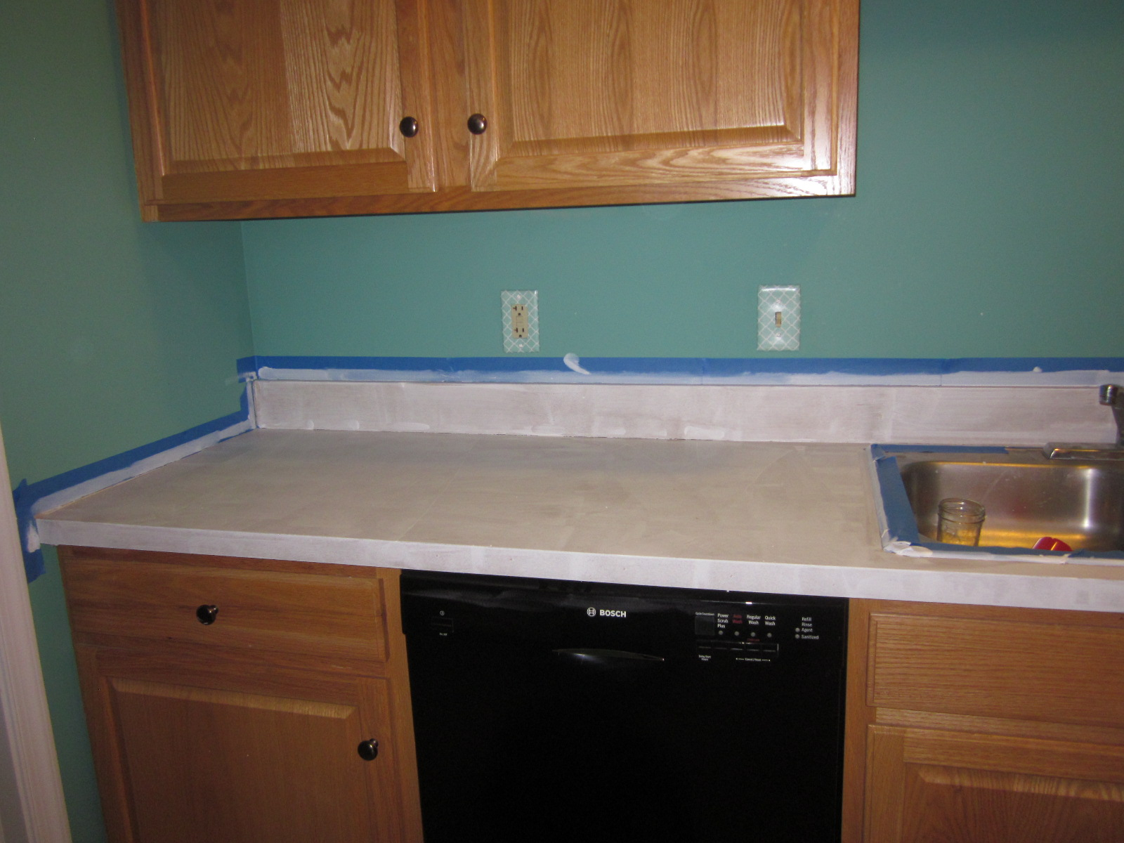 paint; kitchen counter tops; DIY; painting kitchen counter tops ...