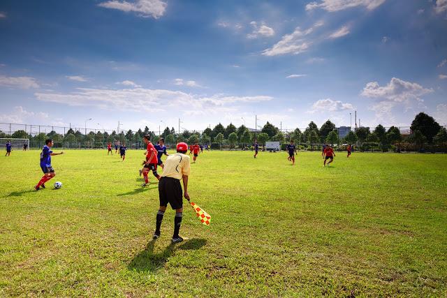 Voetbalverwarmers