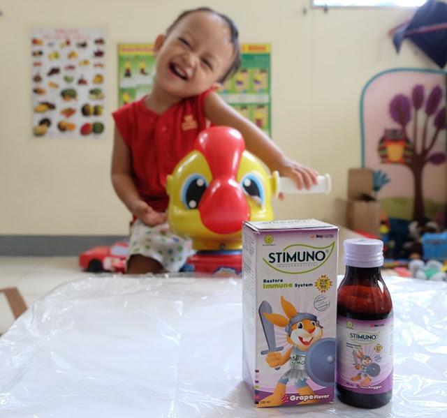 sistem imun tubuh anak
