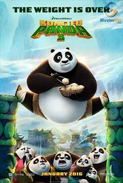 Kung Fu Panda 3 2016 Hindi Dubbed 300MB BluRay 480p