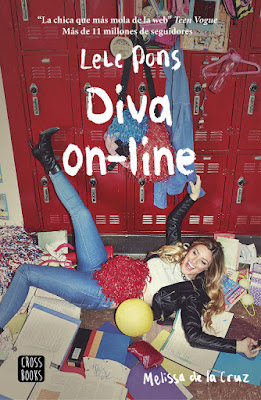 DIVA ON-LINE Lele Pons & Melissa De La Cruz (CrossBooks - 14 Marzo 2017) PORTADA LIBRO