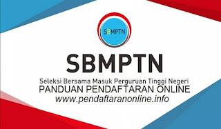 Panduan Pendaftaran Online SBMPTN 2019/2020
