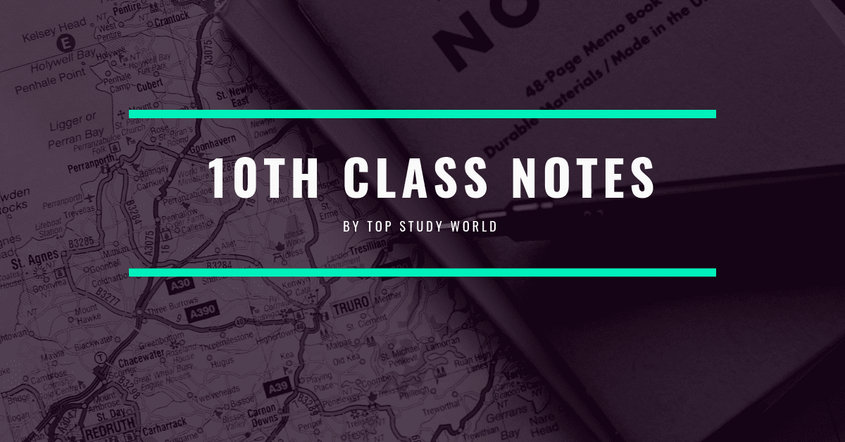 10th Class Notes for All Subjects in PDF for FREE [Updated
