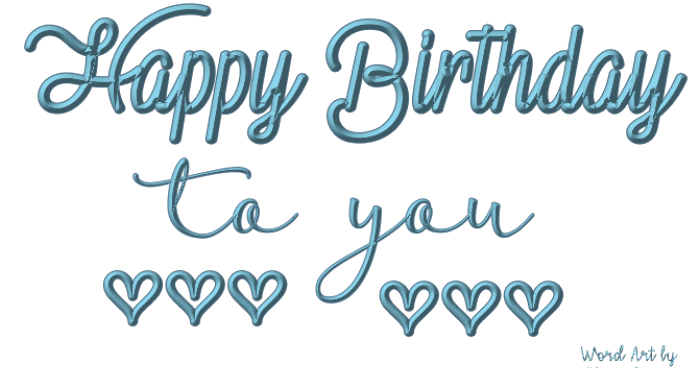Escape From Reality Blog Ftu Happy Birthday Word Art By