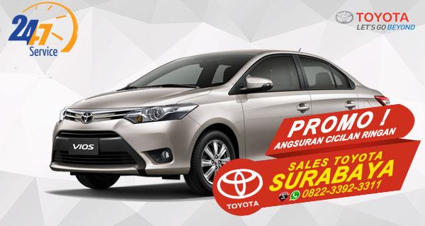 Promo Angsuran Cicilan Ringan Toyota Vios Surabaya