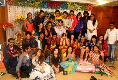 Singer Krishna Chaitanya and Anchor Madhu Mrudula Engagement5