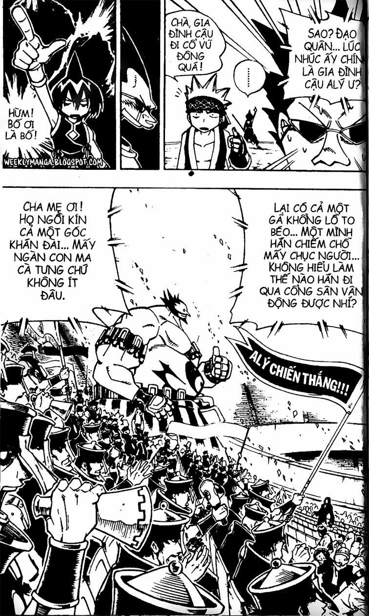 Shaman King [Vua pháp thuật] chap 119 trang 16