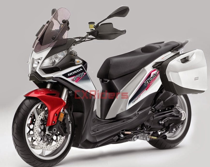 modifikasi motor honda beat