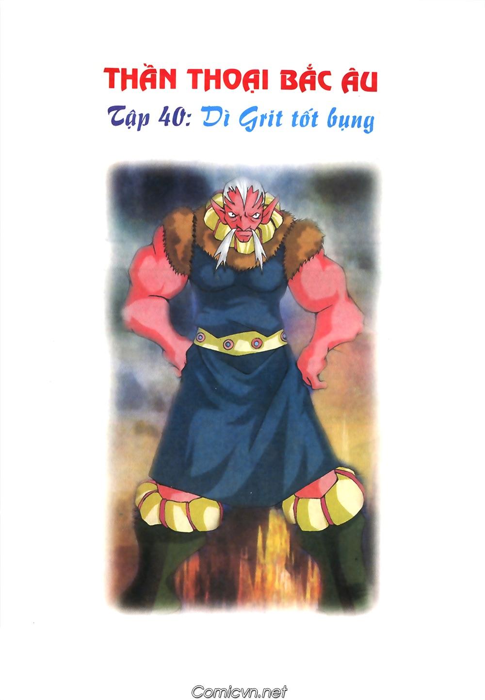 Thần thoại Bắc Âu - Chapter 40: Dì Grit tốt bụng - Pic 2