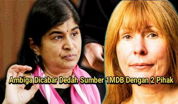 Ambiga Dicabar Dedah Sumber 1MDB Dengan 2 Pihak