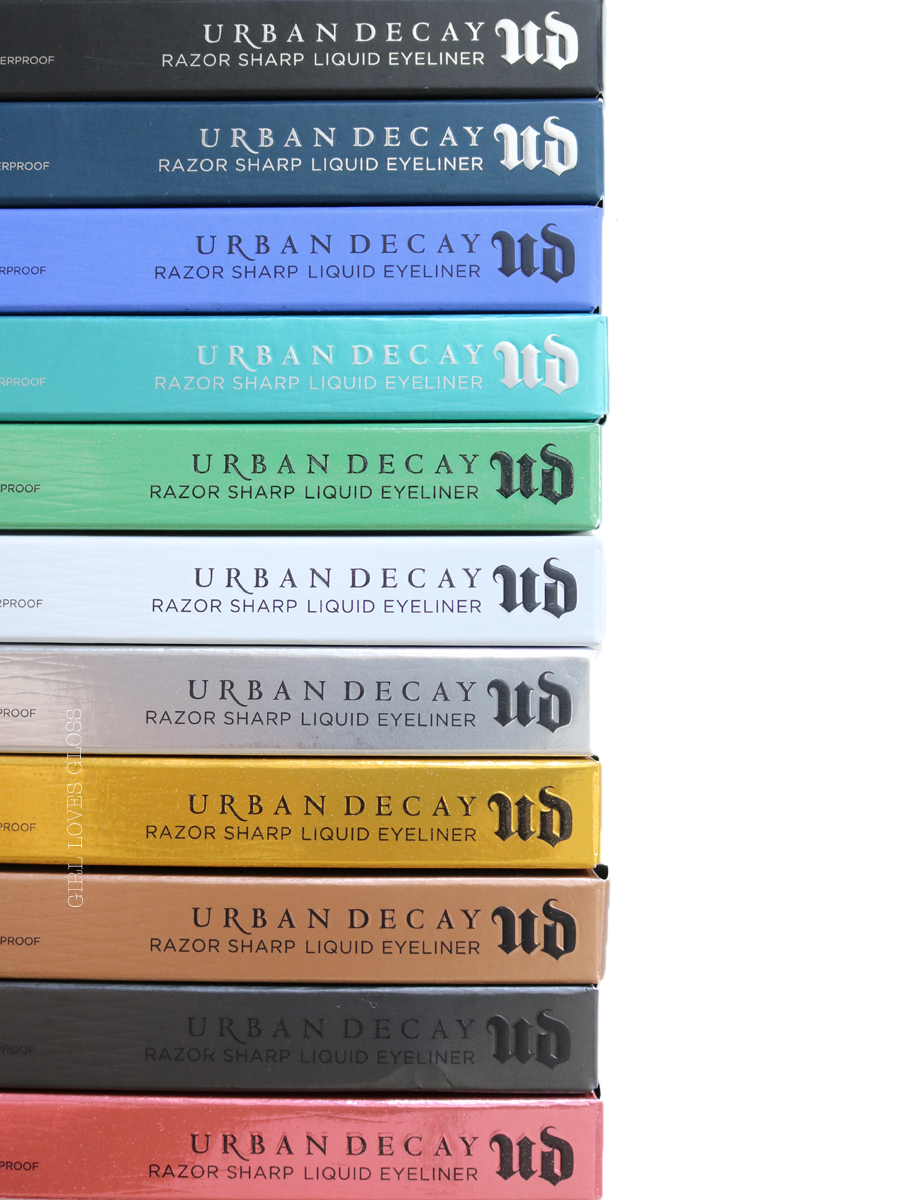 Urban Decay Razor Sharp Eyeliner Swatches and Review