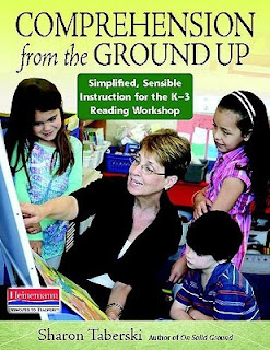 Book cover with text comprehension for the ground up