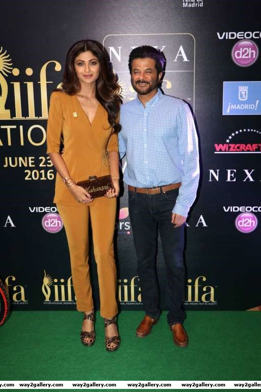 Shilpa Shetty and Anil Kapoor were present at the th IIFA Awards press conference