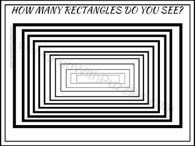 Picture Puzzle to count number of rectangles